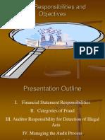 Audit Responsibilities