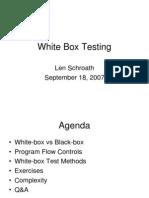 White Box Testing-200709