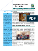 PWOC Keynote, January 2012