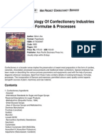 Modern Technology of Confectionery Industries With Formulae &Amp