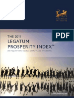 Legatum Prosperity Index 2011