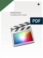 L425712A-EU Final Cut Pro X Demo Guide