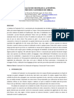 SINALIZAÇÃO ACESSÍVEL DENTRO DO CANTEIRO DE OBRAS