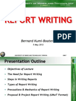 Report Writing(Chp 7)