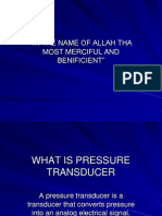 What is Pressure Transducer