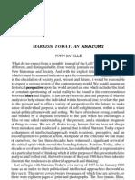 Marxism Today - An Anatomy