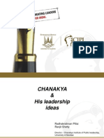 Chanakya and His Leadership Ideas - Radha Ranjit