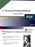 Tcnicas de Biologa Molecular I
