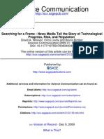 Science Communication 2009 Weaver 139 66