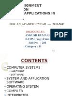 Computer Assignment