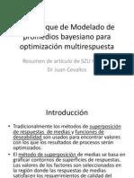 Un Enfoque de Modelado de Promedios Bayesiano Para