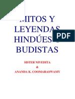 Mitos y Leyendas Hindúes y Budistas - Sister Nivedita y Ananda K. Coomaraswamy