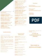 Folder II Festa de Confraternização da Attitude