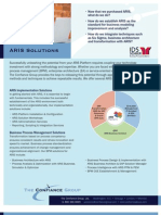 Confiance ARIS Solutions