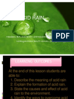Power Point Acid Rain