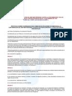 Convenio de Barcelona Para La Proteccion Del Mar Mediterraneo Contra La Contaminacion