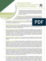 Principales Logros Protocolo de Montreal