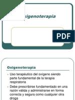 Oxigenoterapia  APA