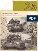 AFV Weapons Profile 025 - Cromwell and Comet