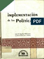Antología 4. La implementación de las política públicas