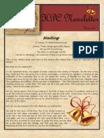 Winter 2011 Newsletter