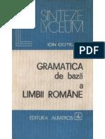 42691879 Gramatica de Baza a Limbii Romane