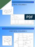 Sheet Metal Drawings