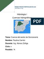 CUENCA HIDROGRÁFICA DE GONZANAMÁ enviar