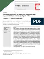 Disfuncion Mitocondrial en Sepsis
