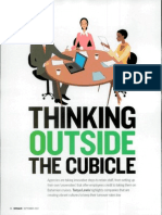 Thinking Outside the Cubicle