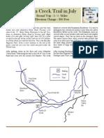 Vaca Creek Trail Guide