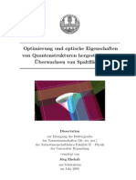 Jörgs Dissertation