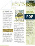 Spring 2009 Horizons, Muir Heritage Land Trust Newsletter