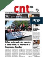 CNT, nº 380, julio 2011