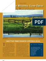 Spring 2010 Northcoast Regional Land Trust Newsletter