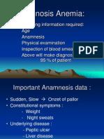 Diagnosis Anemia