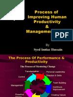 Improving Human Productivity