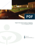 2011-Higher Edcation Role in Climate Change Adaptation