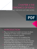 Chapter 4 the Economics of Ideas