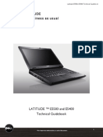 Latitude Essential (E5400 E5500) Technical Guidebook