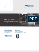 Whitepaper HR is Dead Long Live Employee Experience