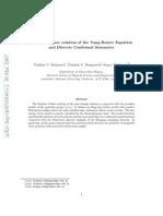 Vladimir V. Bazhanov, Vladimir V. Mangazeev and Sergey M. Sergeev- Faddeev-Volkov solution of the Yang-Baxter Equation and Discrete Conformal Symmetry