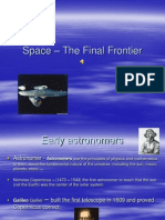 Space - The Final Frontier
