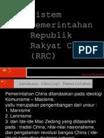 sistem pemerintahan RRC