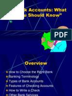 Bank Accounts 1