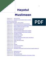 Hayatul Muslimeen Doc