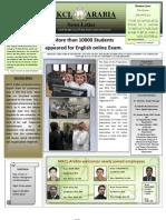 MKCL Arabia Newsletter Nov2011 Issue
