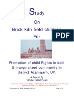 Study Report on Brick Kiln Field