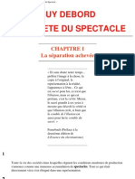 Debord, Guy - La Societe Du Spectacle