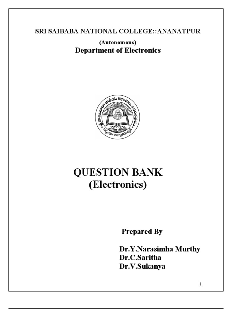 Question Bank Operational Amplifier Circuit Simulator Ecl Nor Or